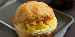 "Pineapple Canteen <br/><span class=""food-truck__food-name"">Pineapple Bun with Fresh Cream & Pineapple</span>"